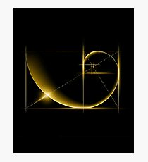 Fibonacci: Golden Ratio Photographic Print