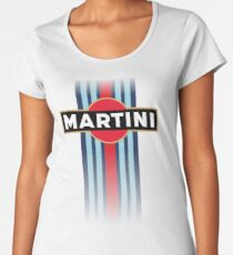 Martini Racing stripe Women's Premium T-Shirt