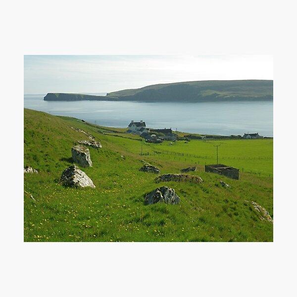 Fetlar - Cruss Hill, Shetland Islands Photographic Print
