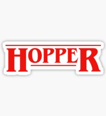 HOPPER Sticker