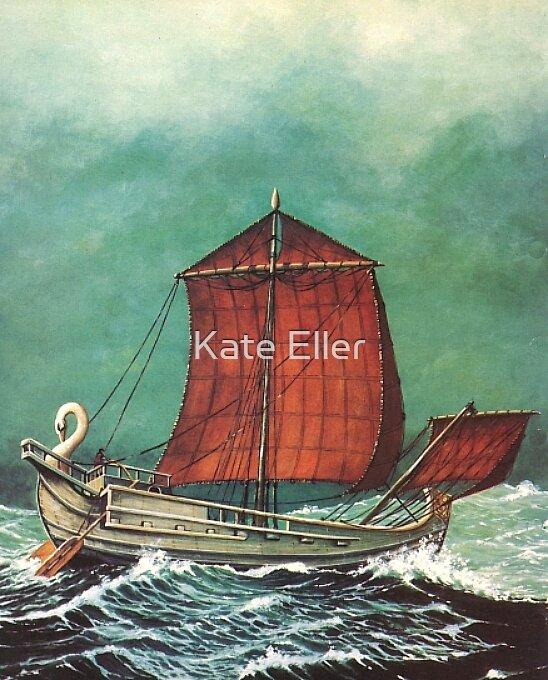 Roman Grain Ship by Kate Eller