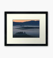 Podere Belvedere Framed Print