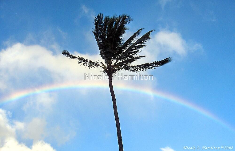 Palm Tree in the Sky by Nicole I Hamilton