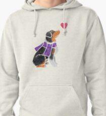 Watercolour Aussie (tricolour) Pullover Hoodie