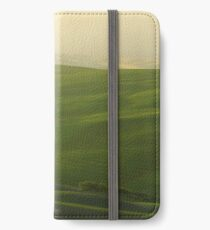 Morning Lights in Val d'Orcia iPhone Wallet/Case/Skin