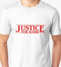 Camiseta ajustada JUSTICIA PARA BARB