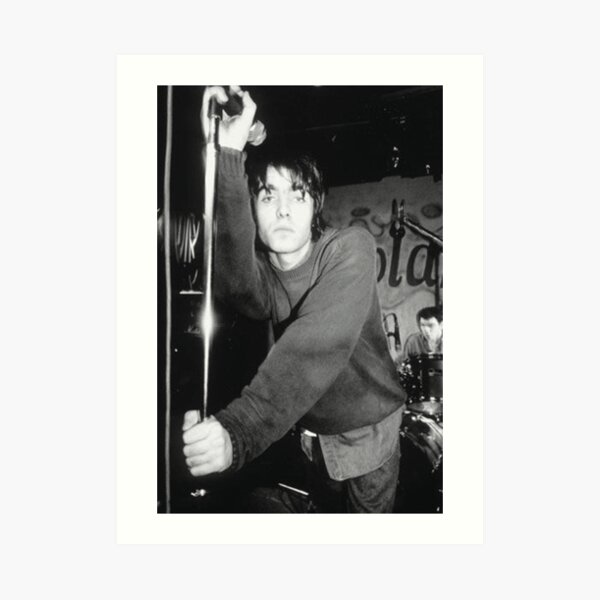 Liam Gallagher Pose Art Print