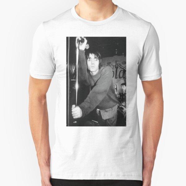 Liam Gallagher Pose Slim Fit T-Shirt