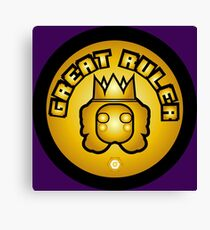 Great Ruler (Gold) Canvas Print