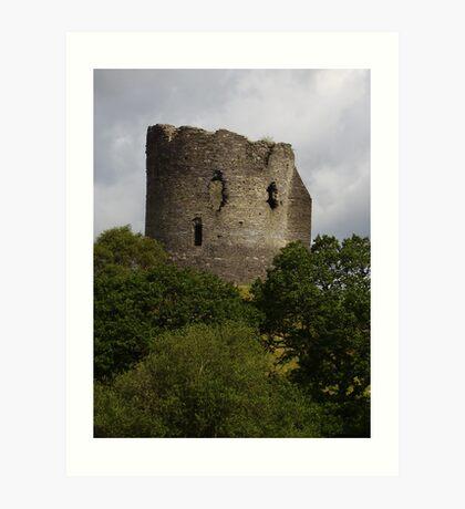Dolbadarn Castle in Wales Art Print