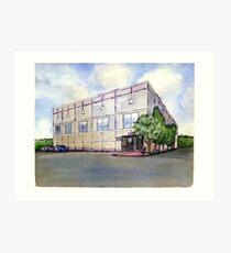 The Office Pam's Painting of Dunder Mifflin Art Print