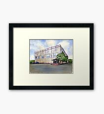 The Office Pam's Painting of Dunder Mifflin Framed Print