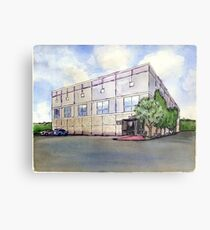 The Office Pam's Painting of Dunder Mifflin Metal Print