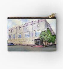Das Büro Pams Gemälde von Dunder Mifflin Täschchen
