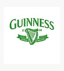 Guiness green Photographic Print