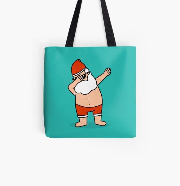 Santa's awake All Over Print Tote Bag