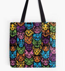 Kittens - Multi Color Tote Bag