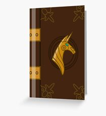 My Little Pony Legend Book Greeting Card