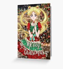 Merry Xmas Usagi! Greeting Card