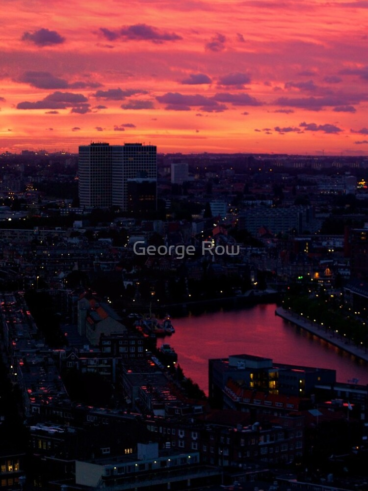 Rotterdam at Sunset, from Euromast by VeryIreland