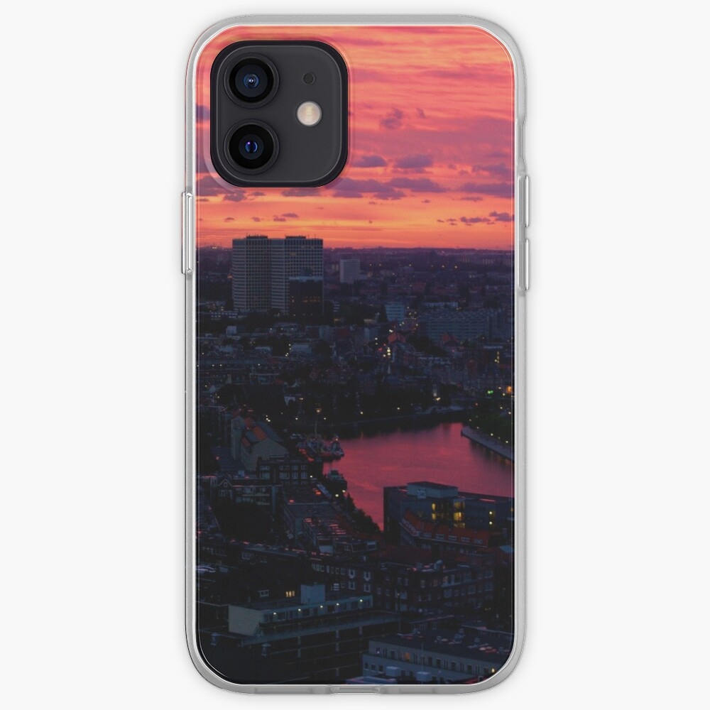 Rotterdam at Sunset, from Euromast iPhone Case & Cover