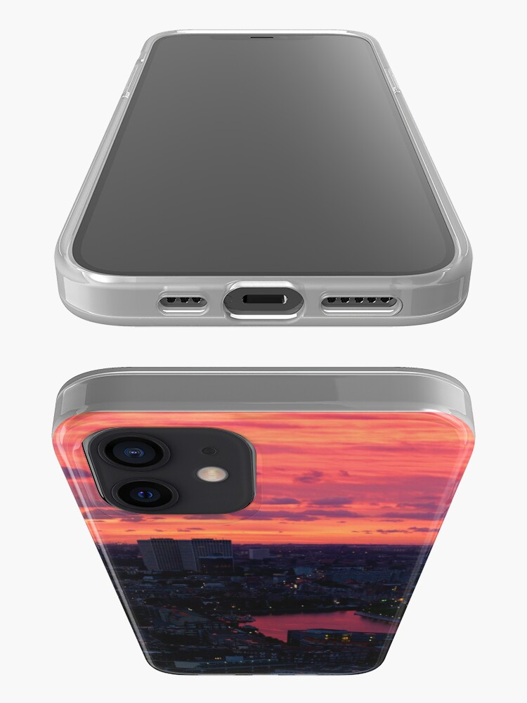 Alternate view of Rotterdam at Sunset, from Euromast iPhone Case & Cover