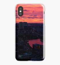 Rotterdam at Sunset, from Euromast iPhone Case/Skin