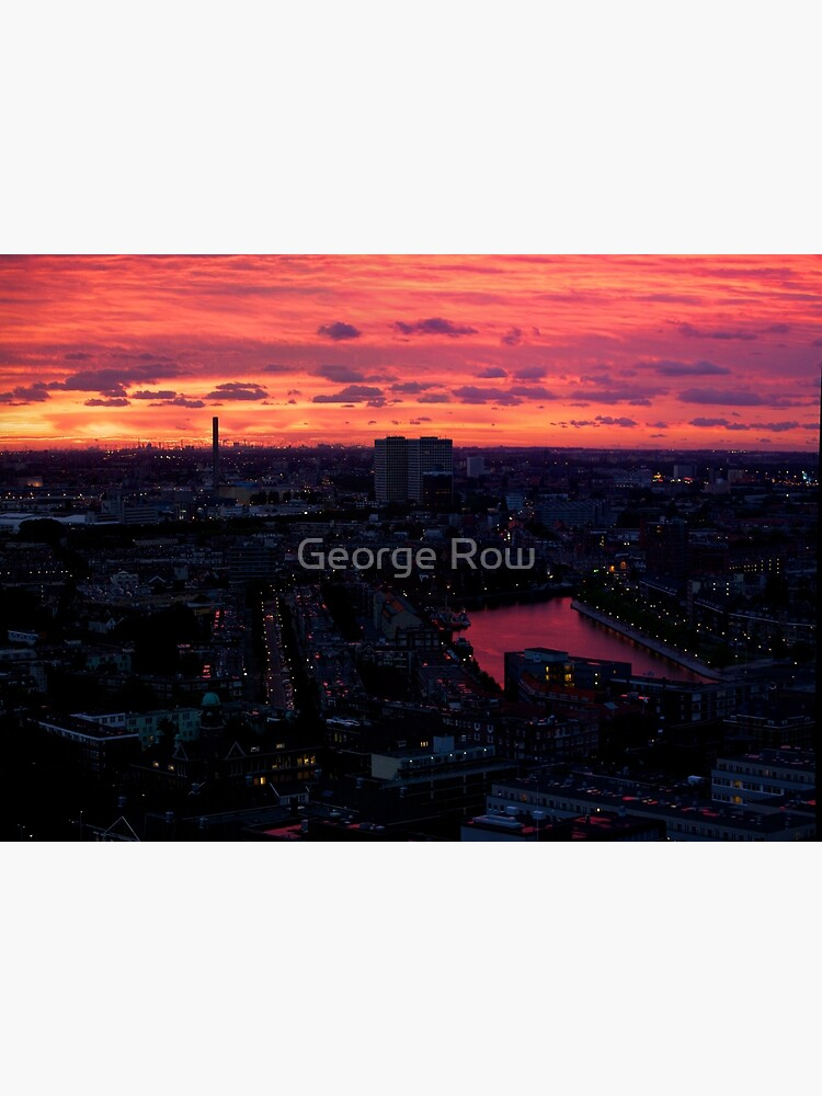 Rotterdam at Sunset, from Euromast by VeryIreland