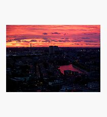 Rotterdam at Sunset, from Euromast Photographic Print