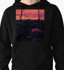 Rotterdam at Sunset, from Euromast Pullover Hoodie