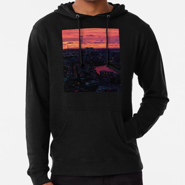 Rotterdam at Sunset, from Euromast Lightweight Hoodie