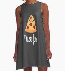Pizza face A-Line Dress