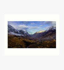 Glencoe Scotland  Art Print