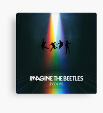Imagine the beetles Canvas Print