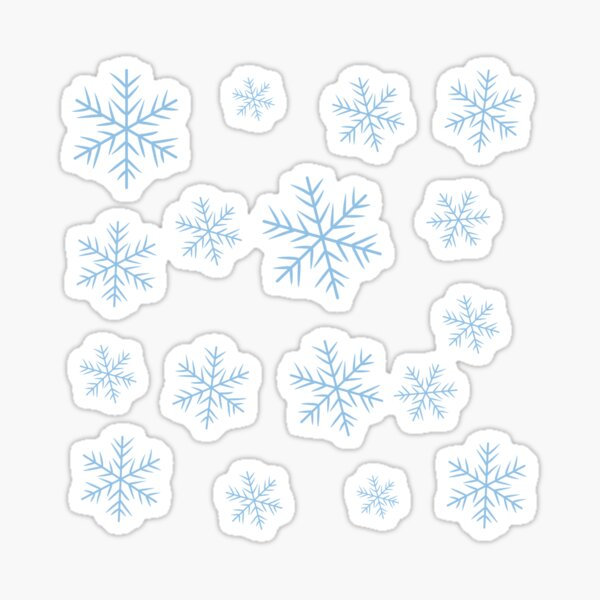 flakes Sticker