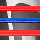 Red and Blue by Donna Adamski