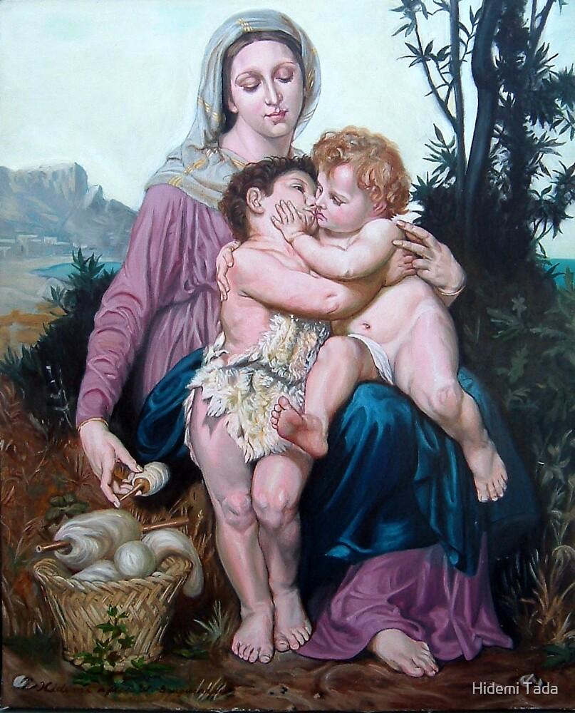 Saint Family after W. Bouguereau by Hidemi Tada