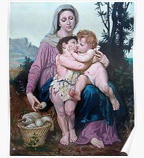 Saint Family after W. Bouguereau Poster