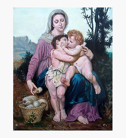 Saint Family after W. Bouguereau Photographic Print