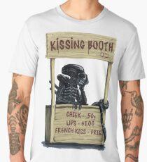 alien kissing booth Men's Premium T-Shirt