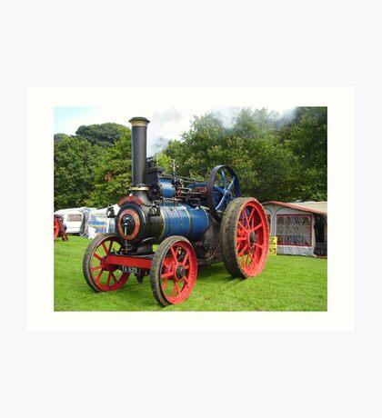 The Old Engine  Art Print