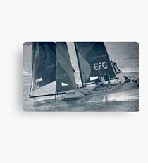Extreme Sailing - Team Oman Canvas Print