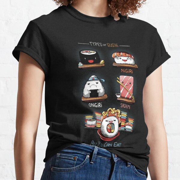 Types of sushi - All you can eat chibi! Classic T-Shirt