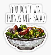 Simpsons Salad Sticker