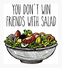 Simpsons Salad Photographic Print
