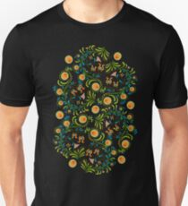 Abstract flowers color 1 Unisex T-Shirt