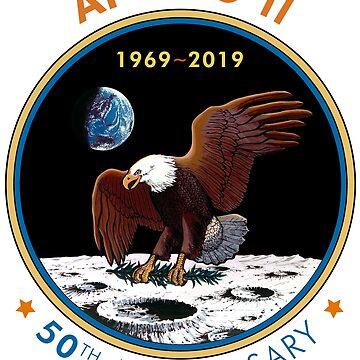 Apollo 11 - 50th Anniversary 1969-2019 by carlosafmarques