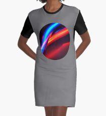 Neon Super Graphic T-Shirt Dress