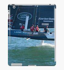 Extreme Sailing- Team Land Rover iPad Case/Skin