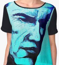 Arnie Inked (Blue Wash) by LegacyArt86 Women's Chiffon Top